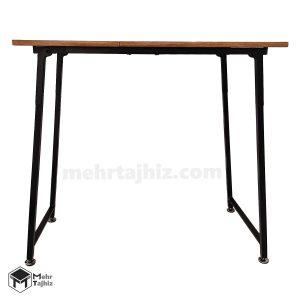 میز پایه بلند تاشو